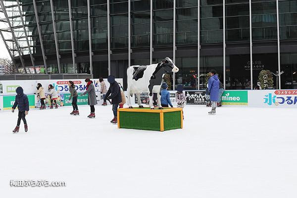 梅北広場スケートリンクつるんつるん