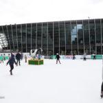 梅北広場スケートリンク、氷でつるんつるん!