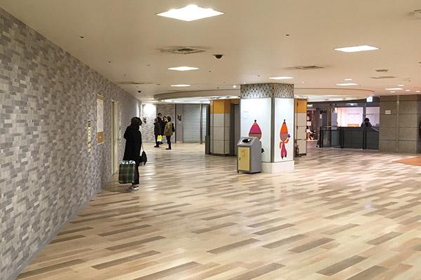 阪急3番街リニューアル工事