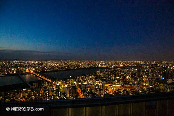 梅田スカイビルからの夜景