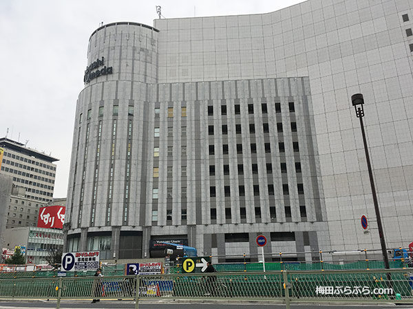 ヨドバシ梅田平面駐車場