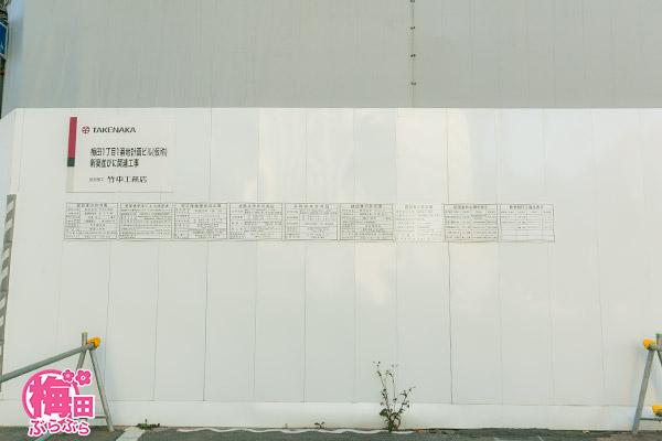 工事の標示関係