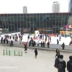 梅田の真ん中でアイススケート!ウメダ「アイスリンク つるんつるん」