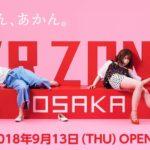 2018年9月13日「VR ZONE OSAKA」がHEP FIVEに登場!