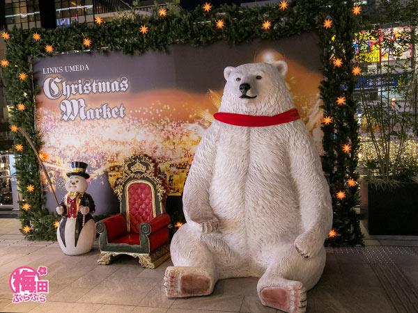 クリスマスマーケットの撮影スポット
