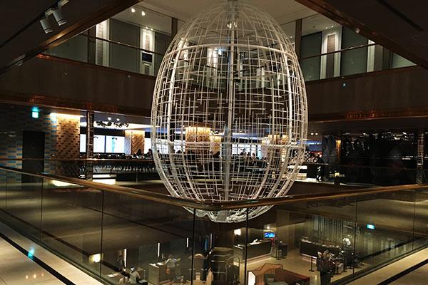 ヒルトン大阪2Fのレストラン街